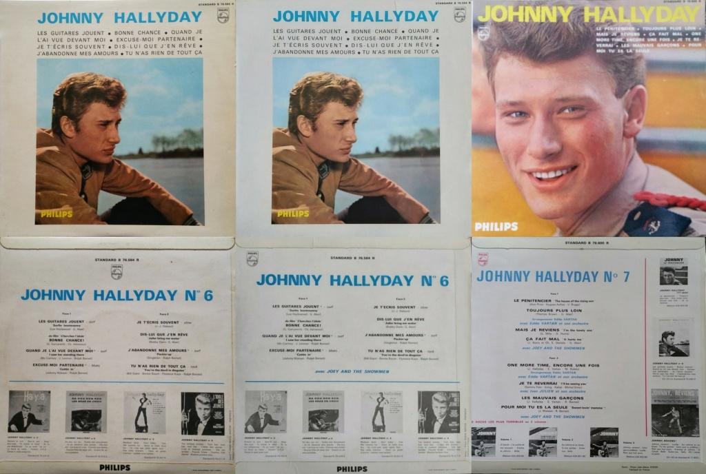 RECAPITULATIF DES ALBUMS 33 TOURS 25CM OFFICIELS ( 1960 - 1964 ) 1964_127