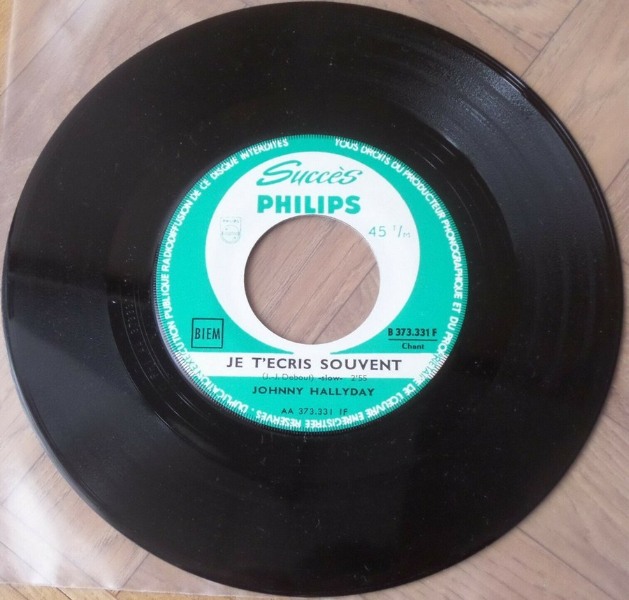 45 TOURS SP PHILIPS ( JUKEBOX )( 1961 - 1969 ) 1964_311
