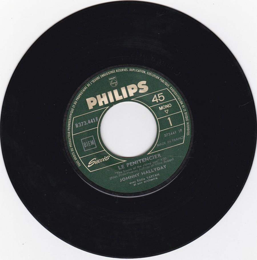 45 TOURS SP PHILIPS ( JUKEBOX )( 1961 - 1969 ) 1964_418