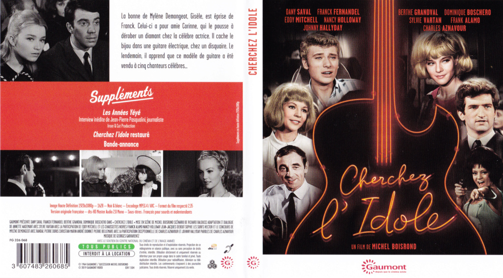 JAQUETTES BLU-RAY DISC ( CONCERTS, FILMS ) 1964_c15