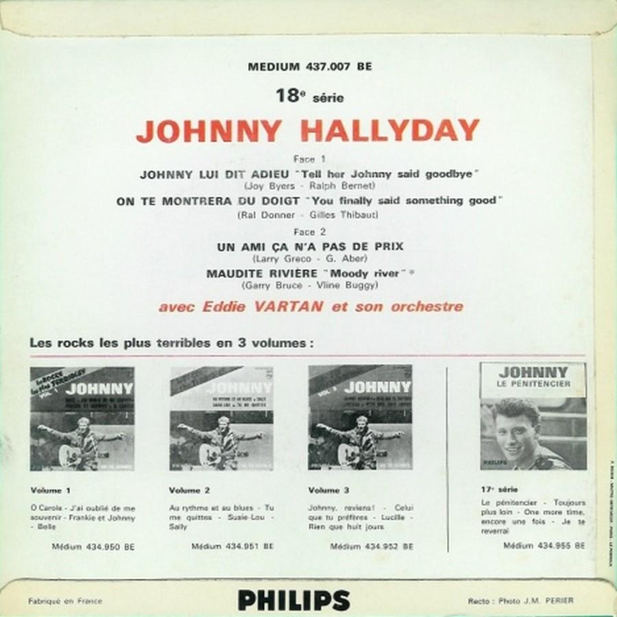 Johnny luit dit adieu ( EP 45 TOURS )( TOUTES LES EDITIONS )( 1965 - 2009 ) 1965_215