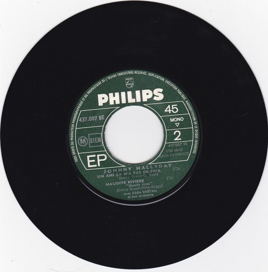 Johnny luit dit adieu ( EP 45 TOURS )( TOUTES LES EDITIONS )( 1965 - 2009 ) 1965_217