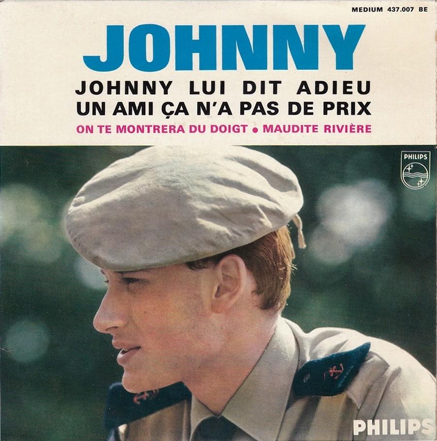 Johnny luit dit adieu ( EP 45 TOURS )( TOUTES LES EDITIONS )( 1965 - 2009 ) 1965_218