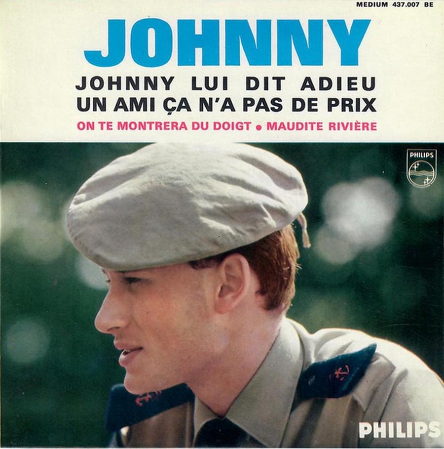 Johnny luit dit adieu ( EP 45 TOURS )( TOUTES LES EDITIONS )( 1965 - 2009 ) 1965_222