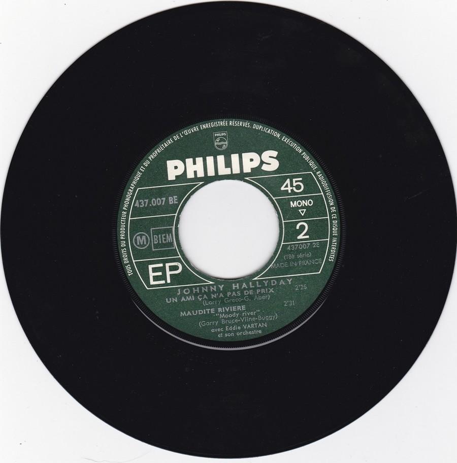 Johnny luit dit adieu ( EP 45 TOURS )( TOUTES LES EDITIONS )( 1965 - 2009 ) 1965_228