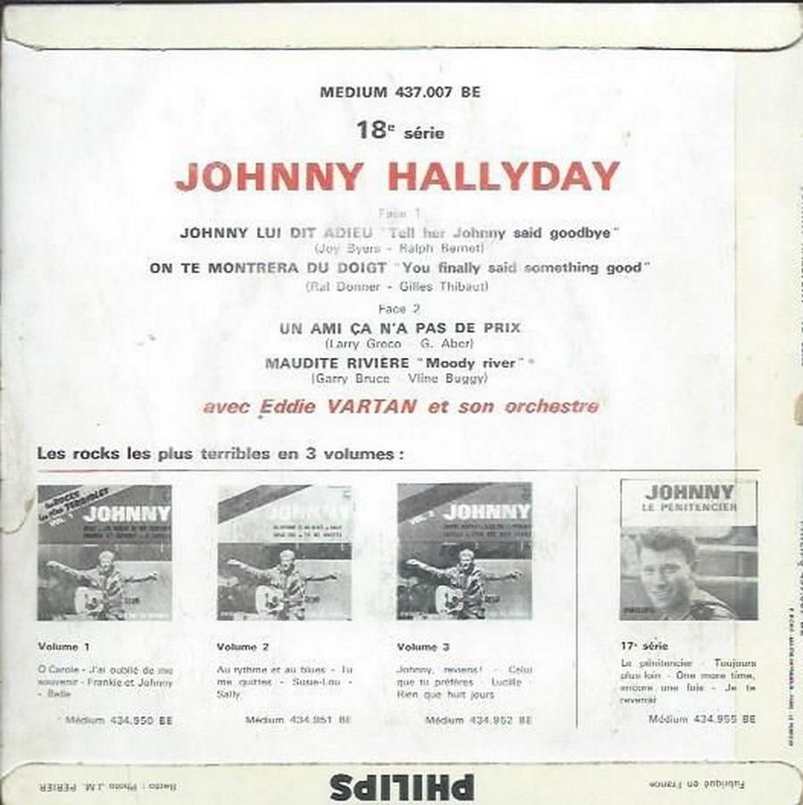 Johnny luit dit adieu ( EP 45 TOURS )( TOUTES LES EDITIONS )( 1965 - 2009 ) 1965_231