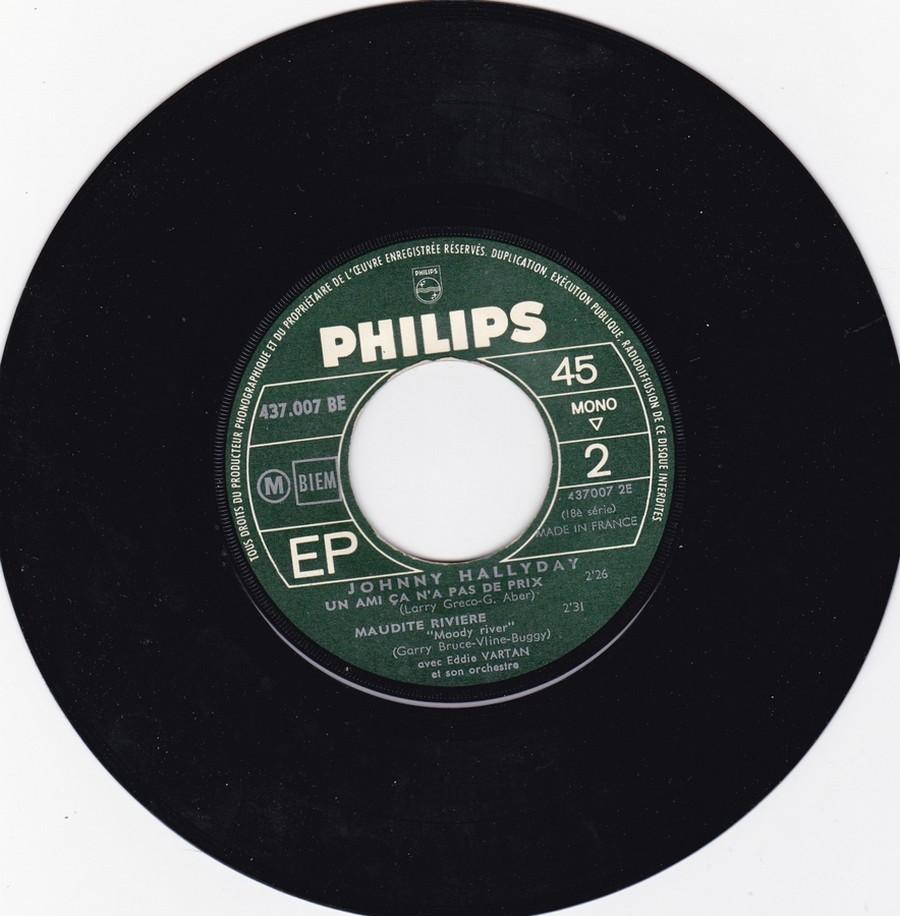 Johnny luit dit adieu ( EP 45 TOURS )( TOUTES LES EDITIONS )( 1965 - 2009 ) 1965_236