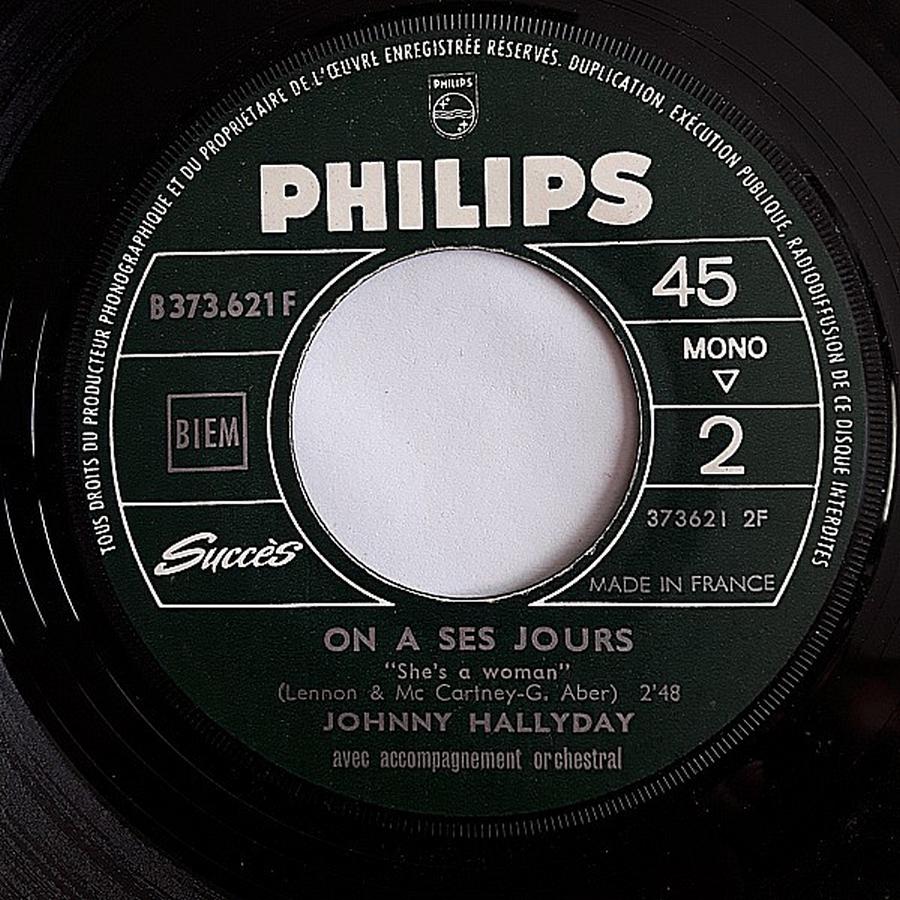 45 TOURS SP PHILIPS ( JUKEBOX )( 1961 - 1969 ) 1965_516