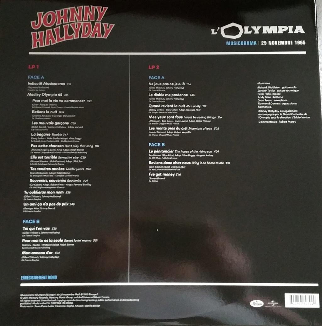 COFFRET OLYMPIA VINYLES ( 7 albums é disques ) 1965_m36