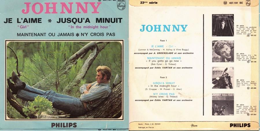 LES CONCERTS DE JOHNNY 'OLYMPIA DE PARIS 1966' 1966-210