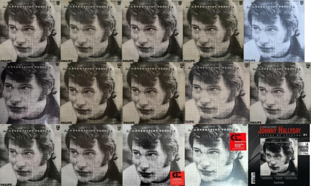 LA GENERATION PERDUE ( 33 TOURS )( TOUTES LES EDITIONS )( 1966 - 2020 ) 1966_017