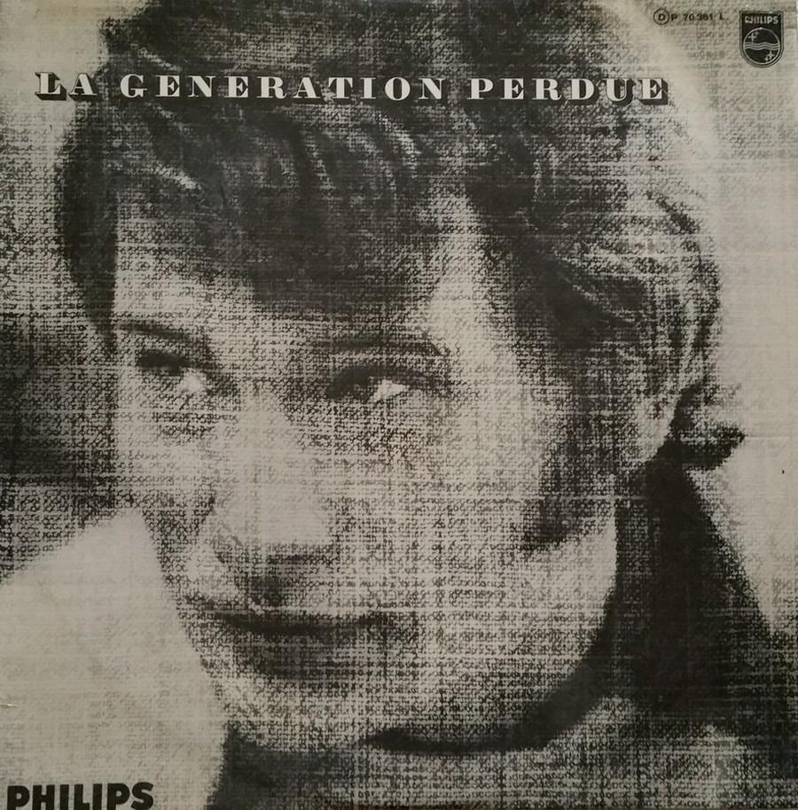 LA GENERATION PERDUE ( 33 TOURS )( TOUTES LES EDITIONS )( 1966 - 2020 ) 1966_024