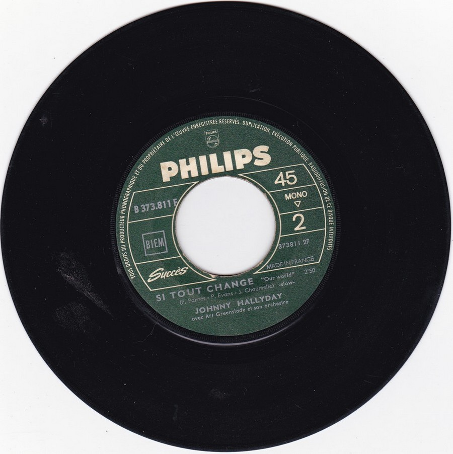 45 TOURS SP PHILIPS ( JUKEBOX )( 1961 - 1969 ) 1966_616