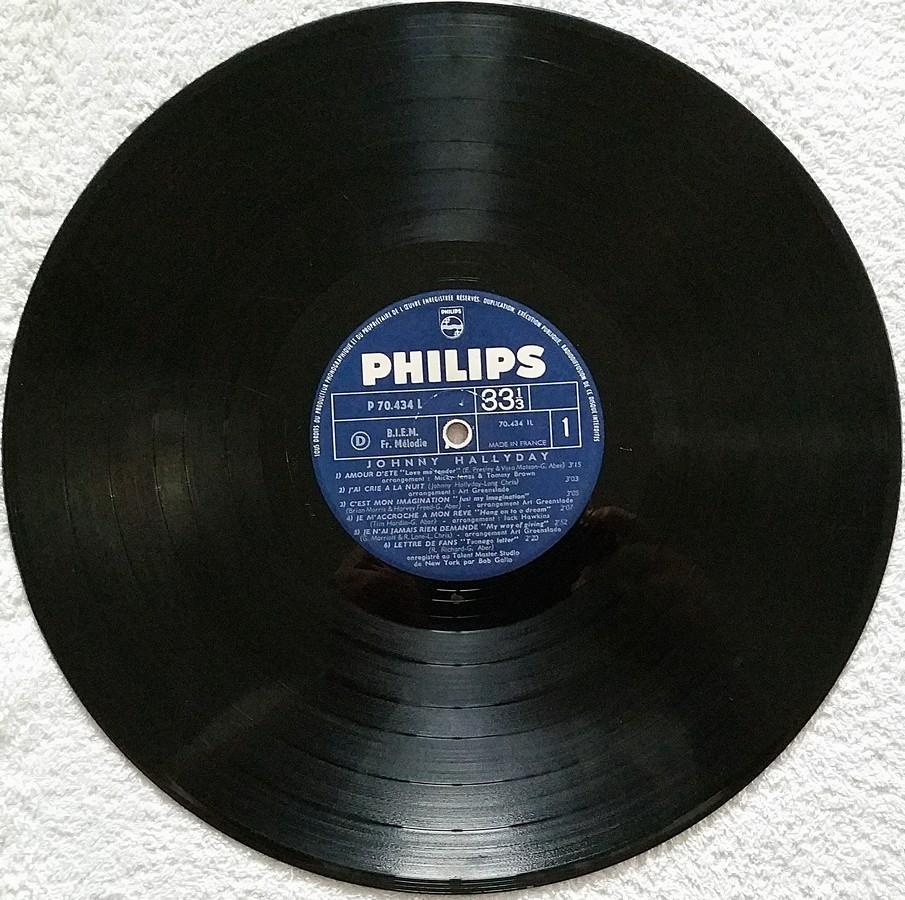 Johnny 67 ( 33 TOURS )( TOUTES LES EDITIONS )( 1967 - 2020 ) 1967_116