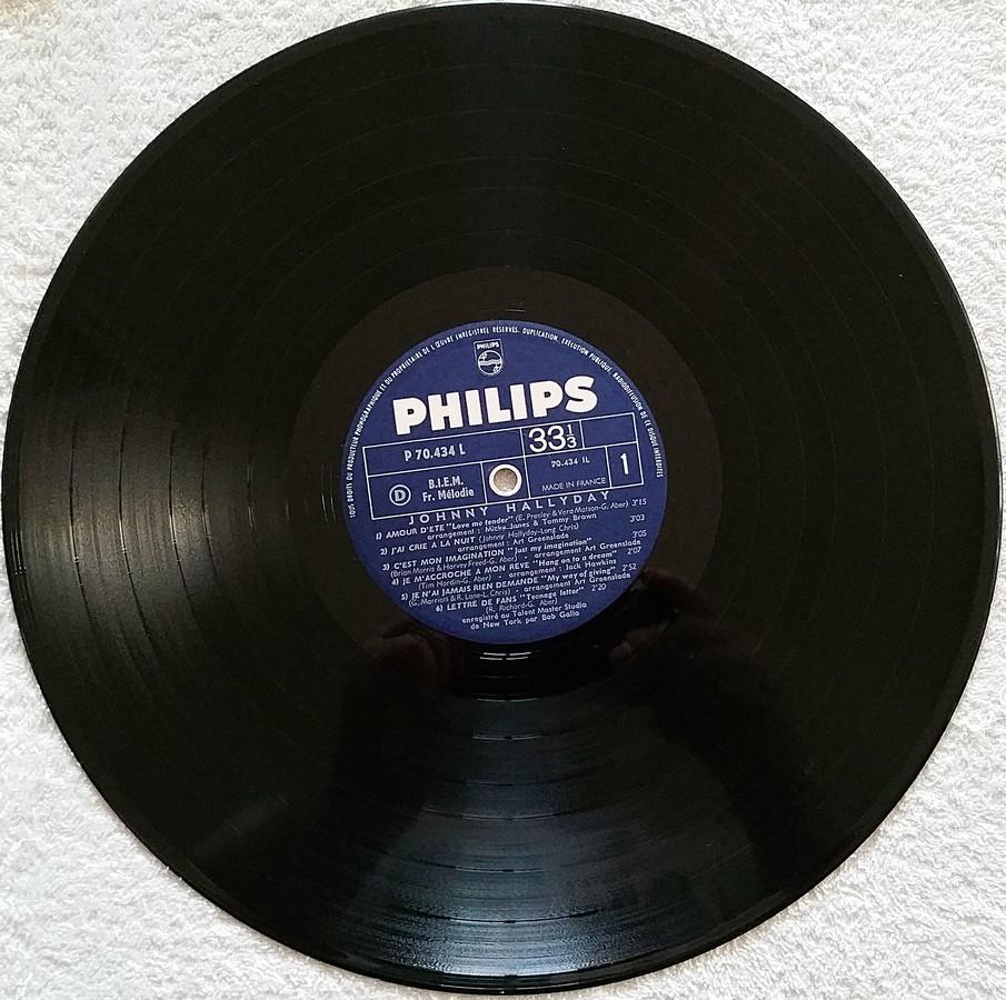 Johnny 67 ( 33 TOURS )( TOUTES LES EDITIONS )( 1967 - 2020 ) 1967_120