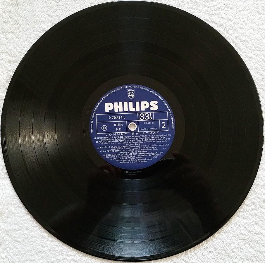 Johnny 67 ( 33 TOURS )( TOUTES LES EDITIONS )( 1967 - 2020 ) 1967_121