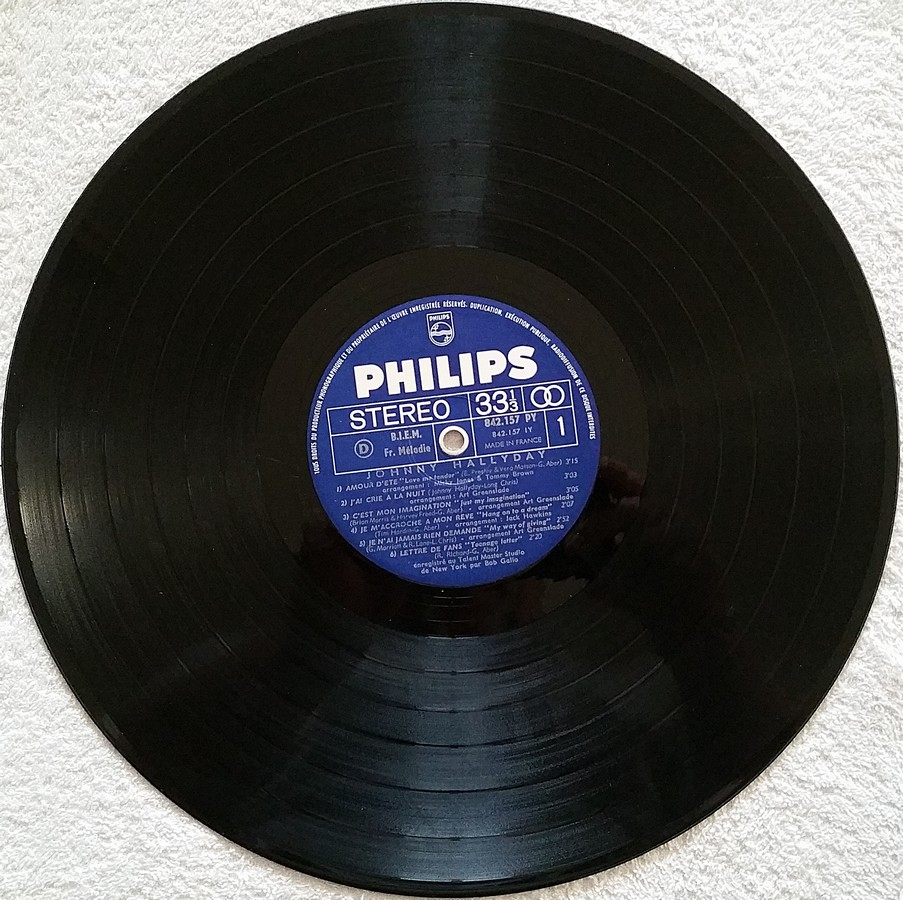 Johnny 67 ( 33 TOURS )( TOUTES LES EDITIONS )( 1967 - 2020 ) 1967_123