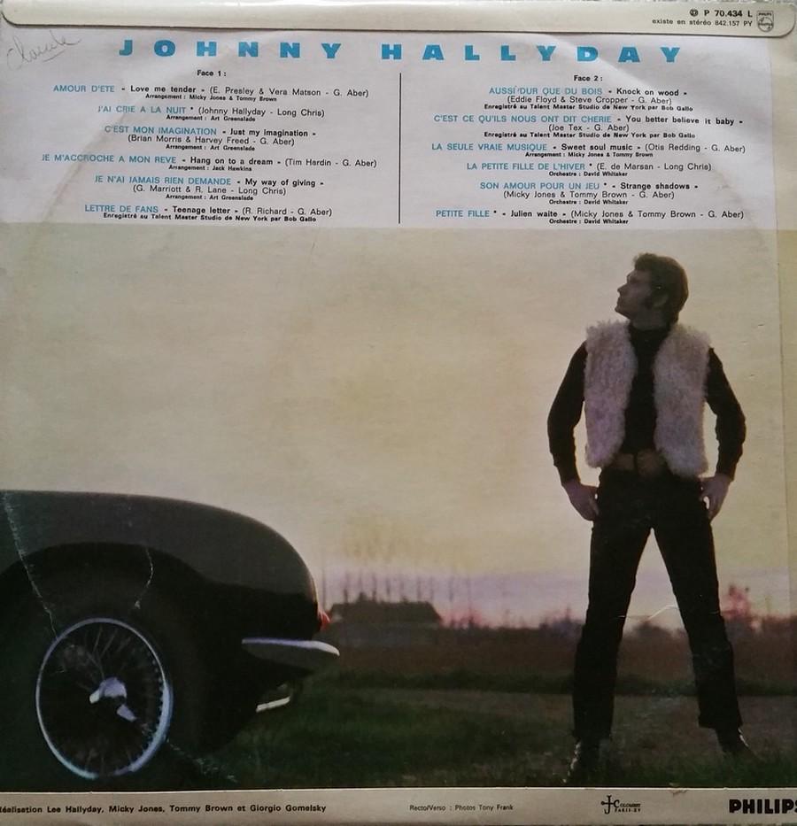 Johnny 67 ( 33 TOURS )( TOUTES LES EDITIONS )( 1967 - 2020 ) 1967_131
