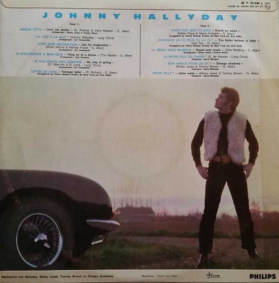 Johnny 67 ( 33 TOURS )( TOUTES LES EDITIONS )( 1967 - 2020 ) 1967_133
