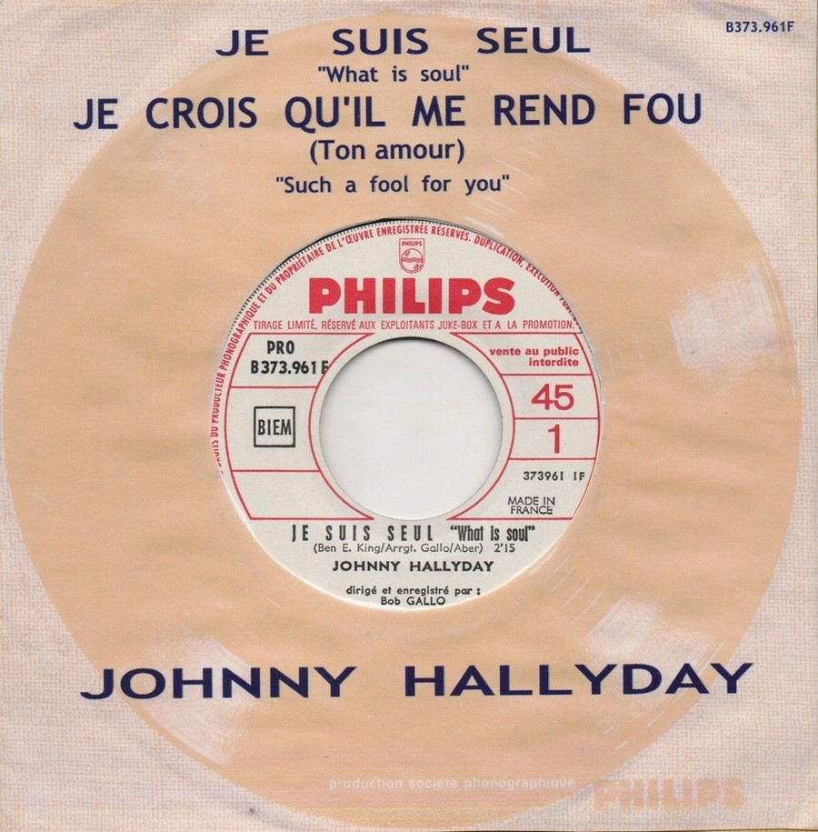 45 TOURS SP PHILIPS ( JUKEBOX )( 1961 - 1969 ) 1967_716