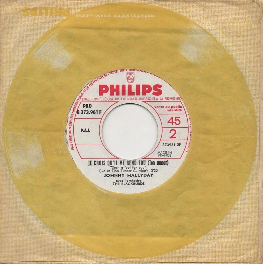 45 TOURS SP PHILIPS ( JUKEBOX )( 1961 - 1969 ) 1967_718