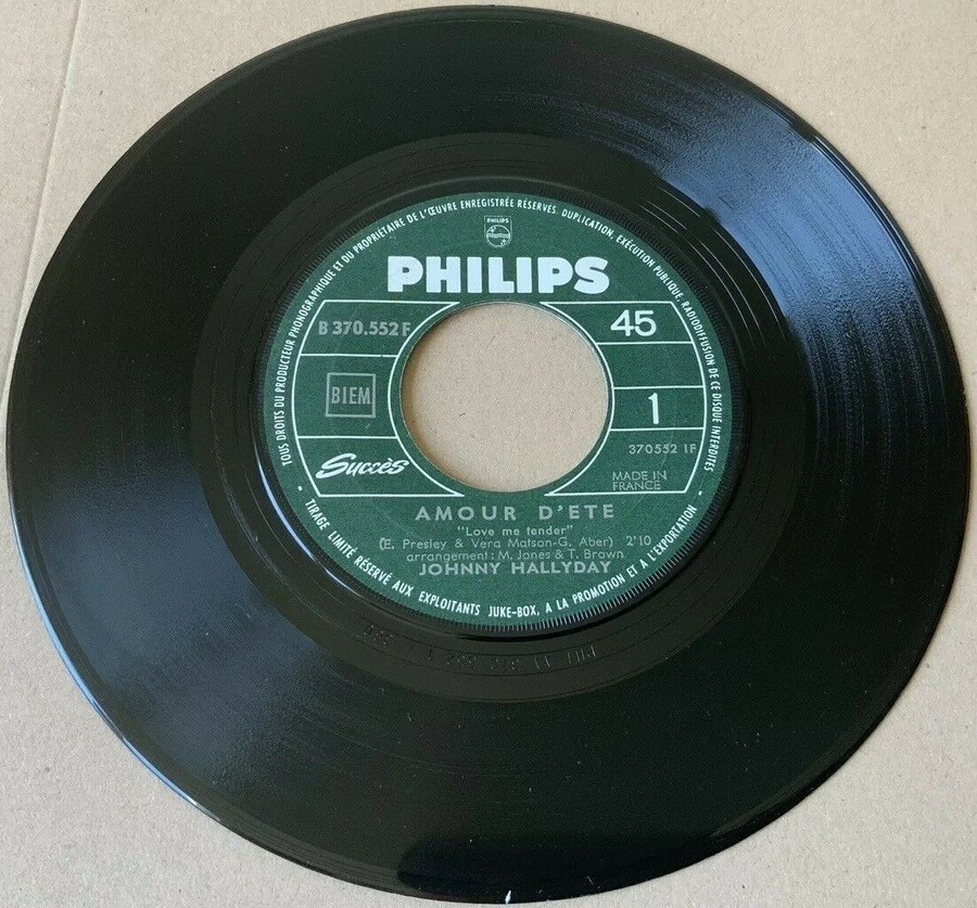 45 TOURS SP PHILIPS ( JUKEBOX )( 1961 - 1969 ) 1967_725
