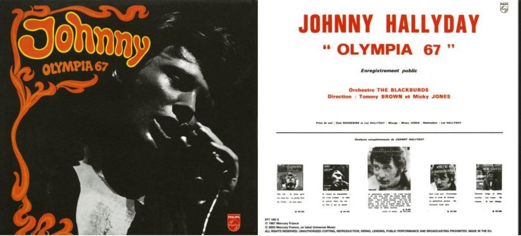 LES CONCERTS DE JOHNNY 'OLYMPIA DE PARIS 1967' 1967_o10