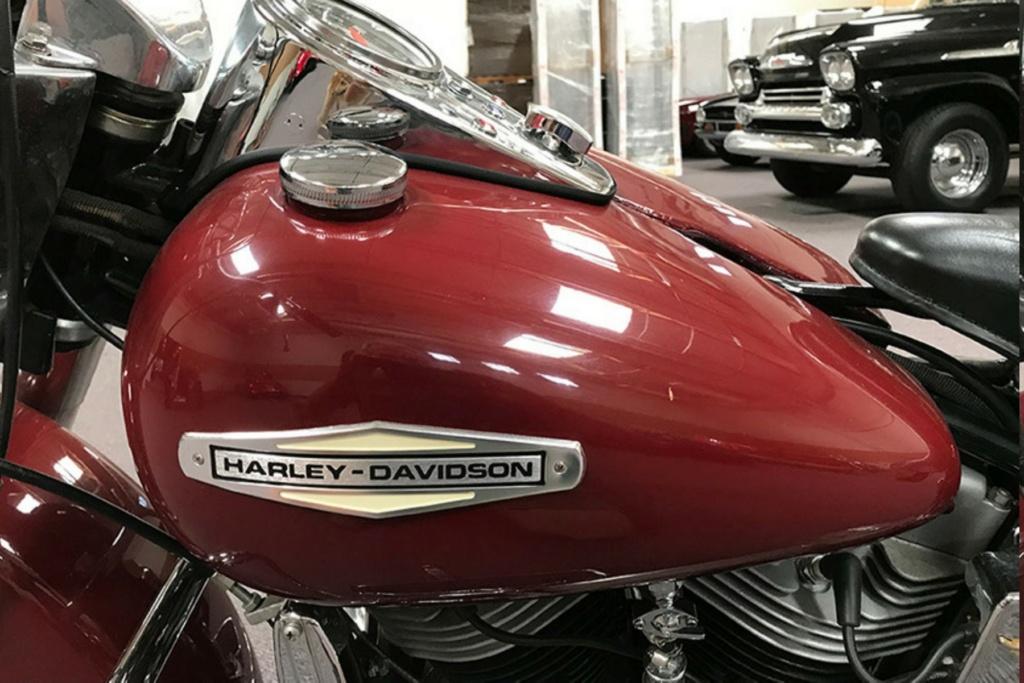 HARLEY-DAVIDOSN FLH 1200 ELECTRA GLIDE DE JOHNNY HALLYDAY ( 1968 ) 1968-h16