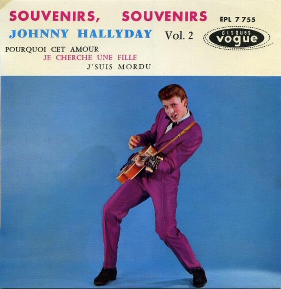 Souvenirs souvenirs ( EP 45 TOURS )( TOUTES LES EDITIONS )( 1960 - 2019 ) 1968_034