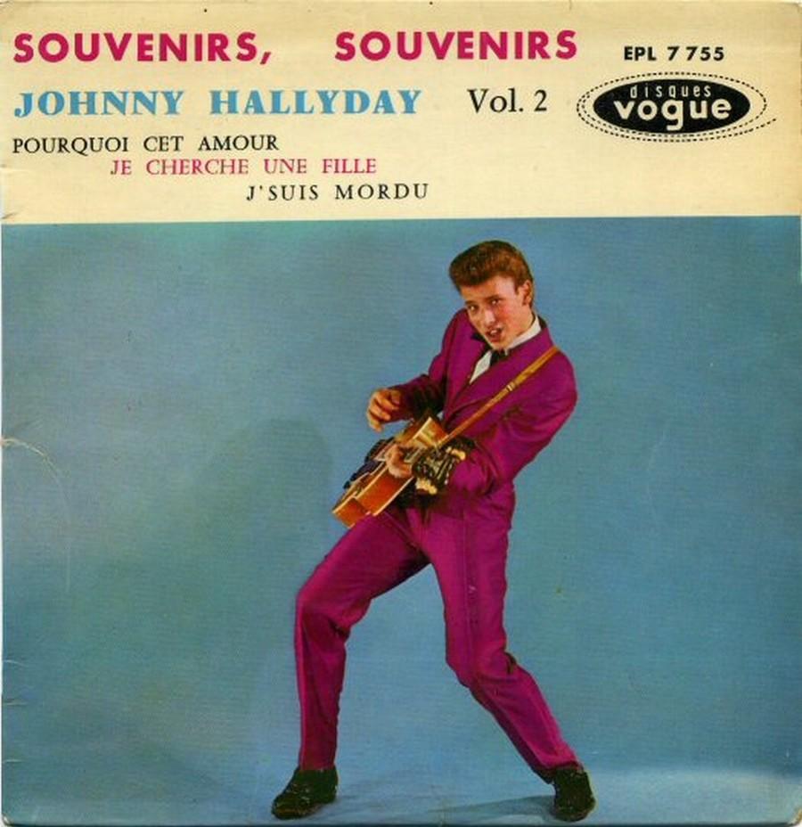 Souvenirs souvenirs ( EP 45 TOURS )( TOUTES LES EDITIONS )( 1960 - 2019 ) 1968_038
