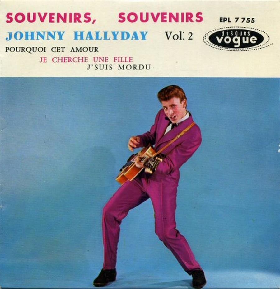 Souvenirs souvenirs ( EP 45 TOURS )( TOUTES LES EDITIONS )( 1960 - 2019 ) 1968_057