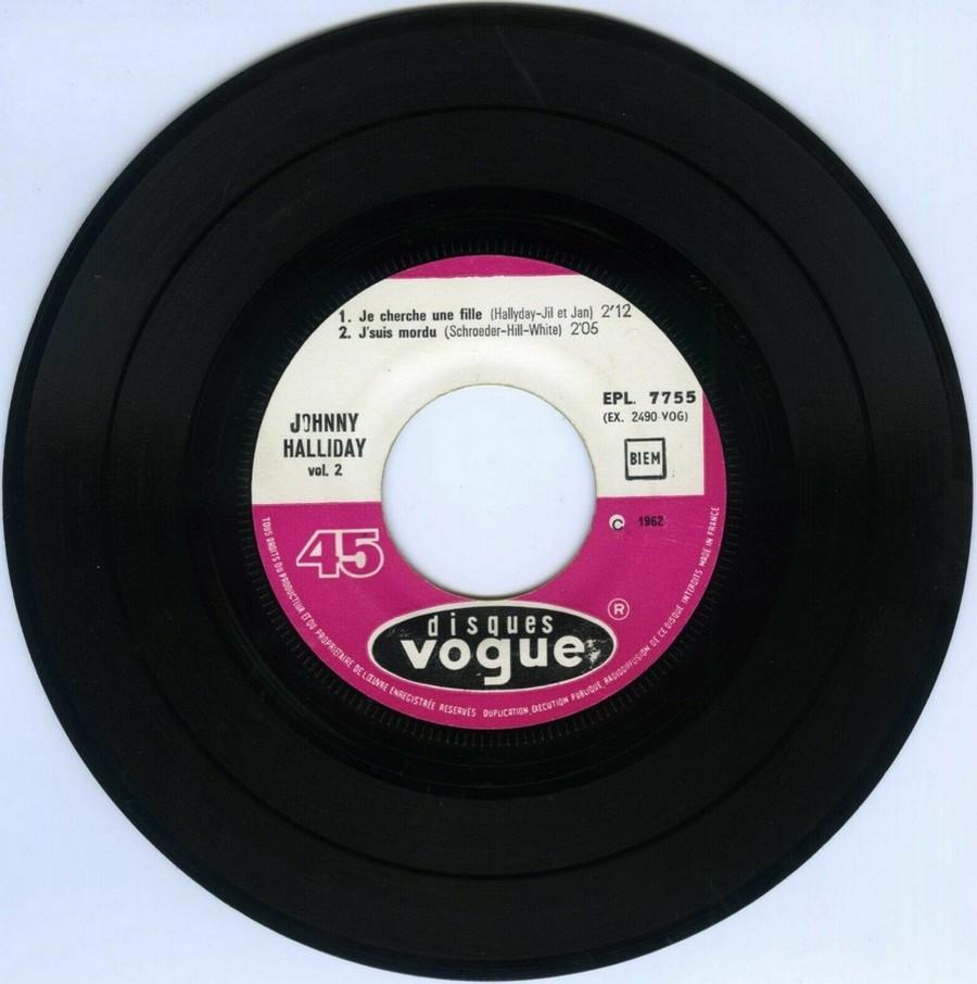Souvenirs souvenirs ( EP 45 TOURS )( TOUTES LES EDITIONS )( 1960 - 2019 ) 1968_062
