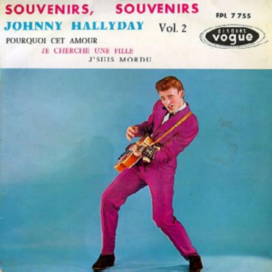 Souvenirs souvenirs ( EP 45 TOURS )( TOUTES LES EDITIONS )( 1960 - 2019 ) 1968_074