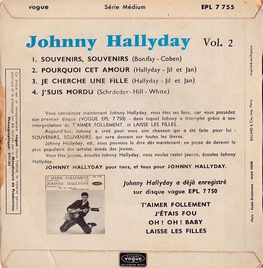 Souvenirs souvenirs ( EP 45 TOURS )( TOUTES LES EDITIONS )( 1960 - 2019 ) 1968_076