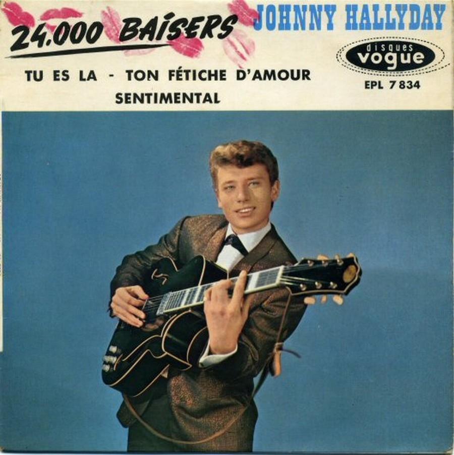 24.000 baisers ( EP 45 TOURS )( TOUTES LES EDITIONS )( 1961 - 2019 ) 1968_085