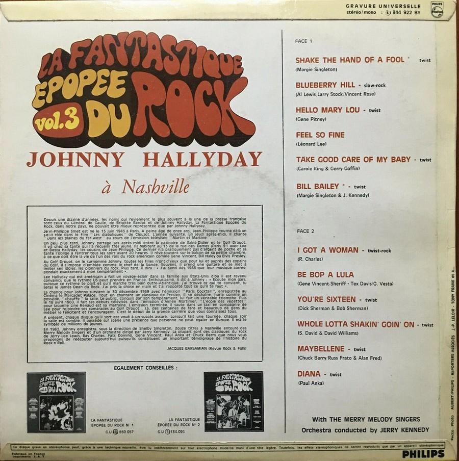 JOHNNY HALLYDAY A NASHVILLE ( 33 TOURS )( TOUTES LES EDITIONS )( 1968 - 1982 ) 1968_j63