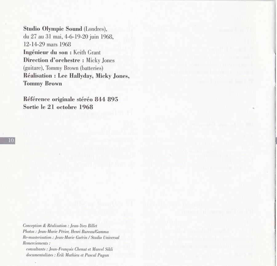 COLLECTION DES 40 ALBUMS CD ( UNIVERSAL )( 2000 ) - Page 2 1968_r22