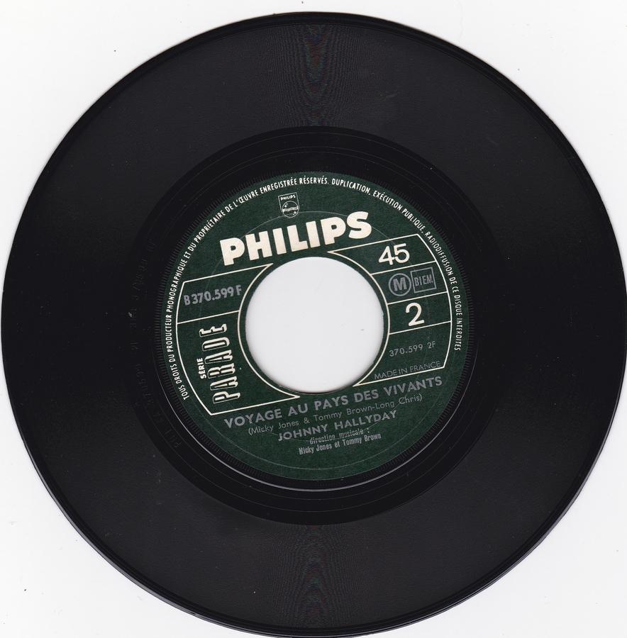 Que je t'aime ( SP )( Différentes variantes ) 1969_014