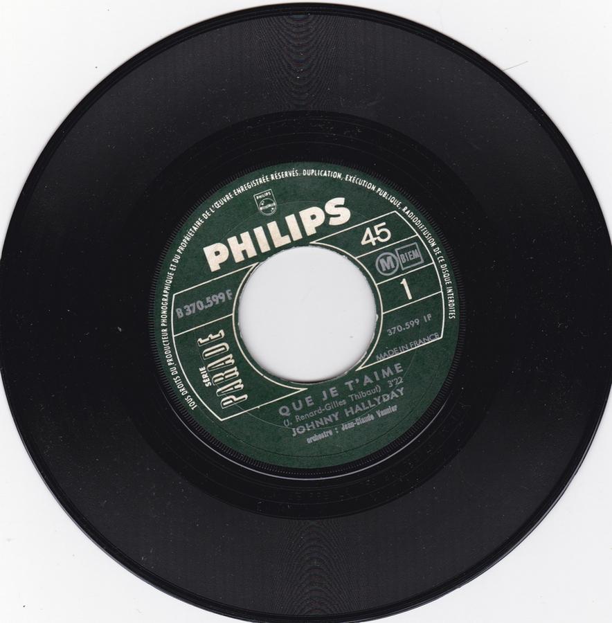 Que je t'aime ( SP )( Différentes variantes ) 1969_027