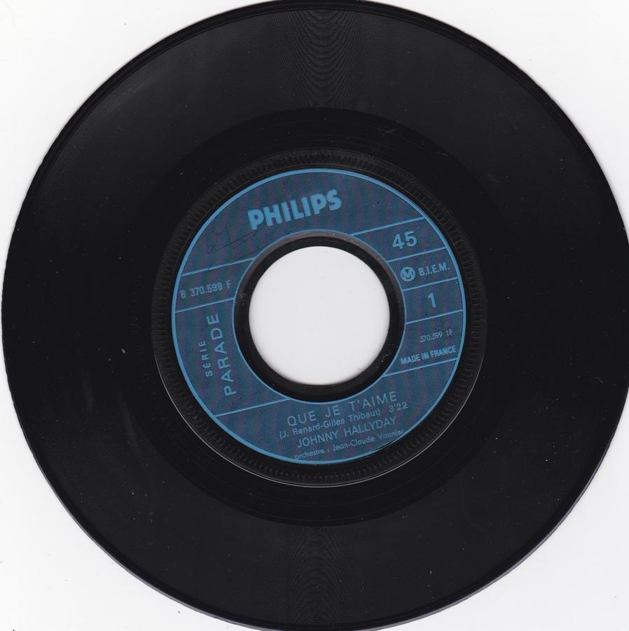 Que je t'aime ( SP )( Différentes variantes ) 1969_069