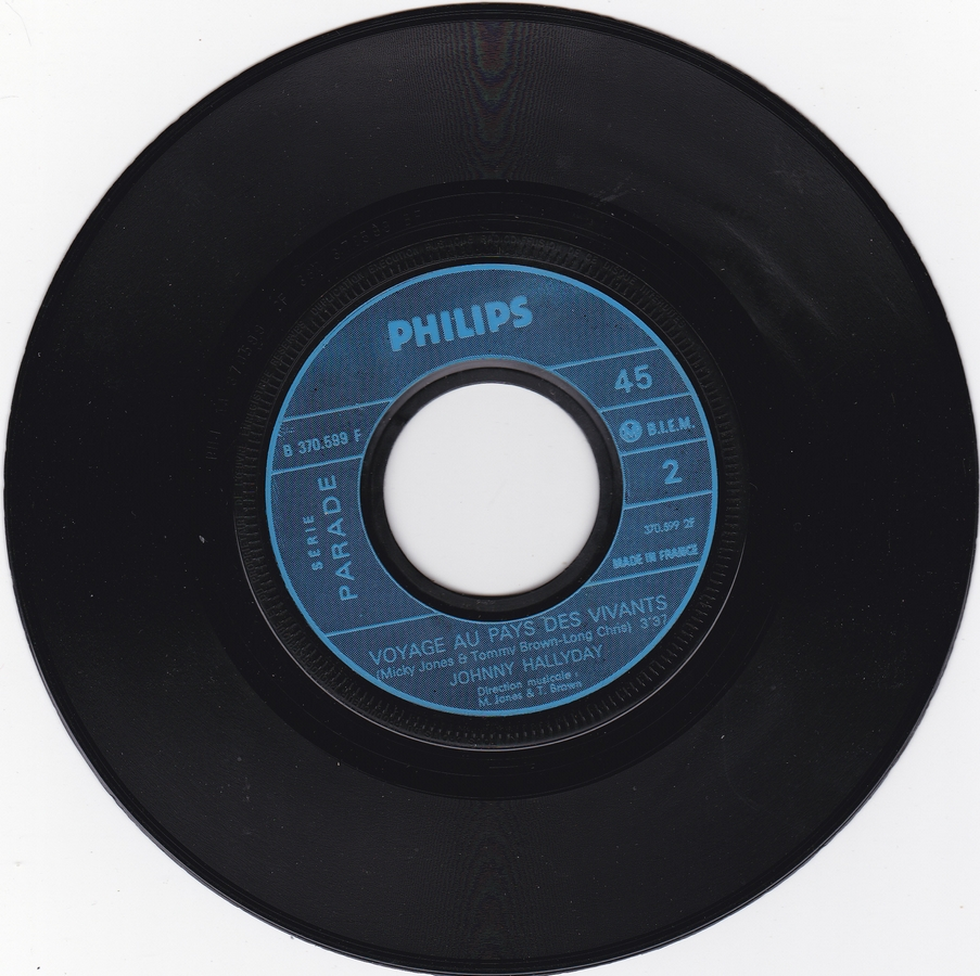 Que je t'aime ( SP )( Différentes variantes ) 1969_074