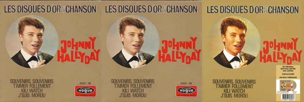 Les disques d'or de la chanson - Souvenirs, souvenirs ( EP 45 TOURS ) 1969_116