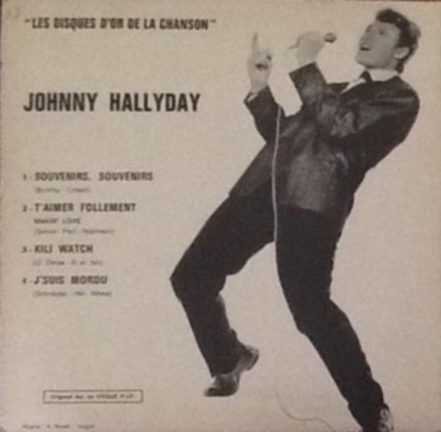 Les disques d'or de la chanson - Souvenirs, souvenirs ( EP 45 TOURS ) 1969_117