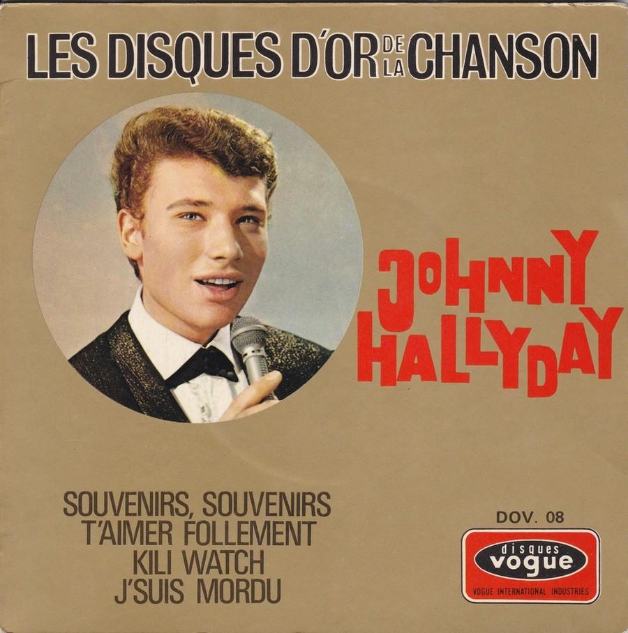 Les disques d'or de la chanson - Souvenirs, souvenirs ( EP 45 TOURS ) 1969_119