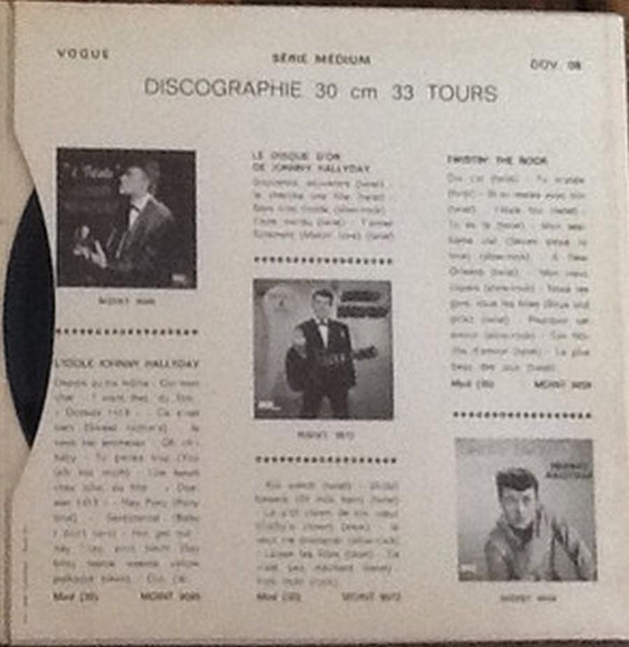 Les disques d'or de la chanson - Souvenirs, souvenirs ( EP 45 TOURS ) 1969_122