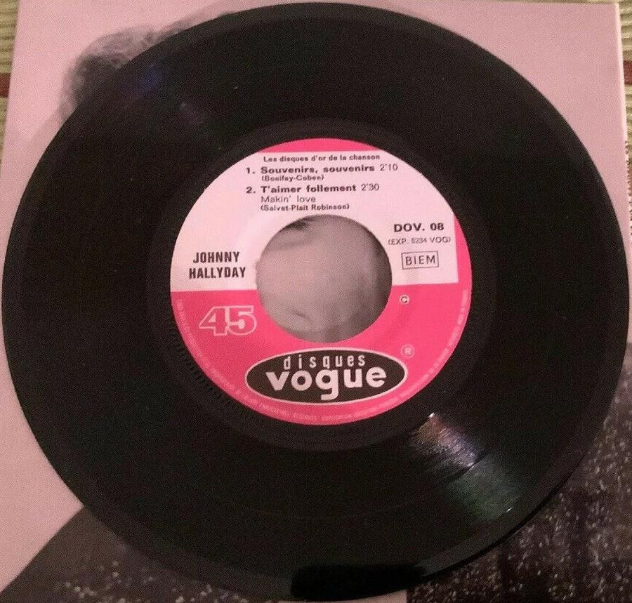 Les disques d'or de la chanson - Souvenirs, souvenirs ( EP 45 TOURS ) 1969_123
