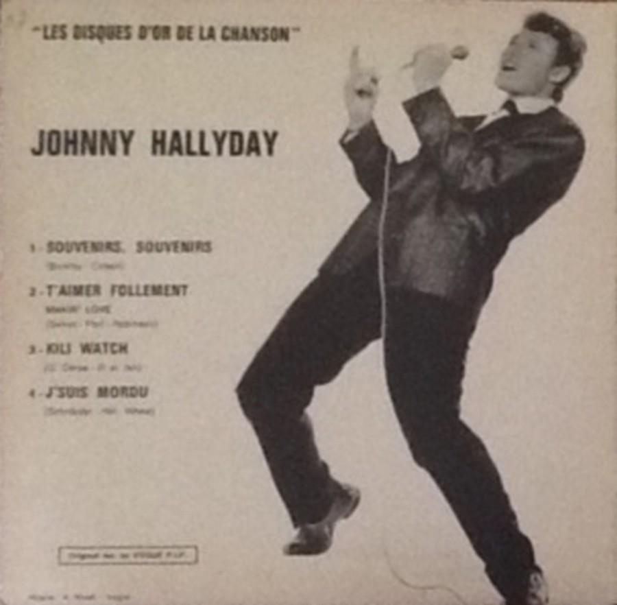 Les disques d'or de la chanson - Souvenirs, souvenirs ( EP 45 TOURS ) 1969_126