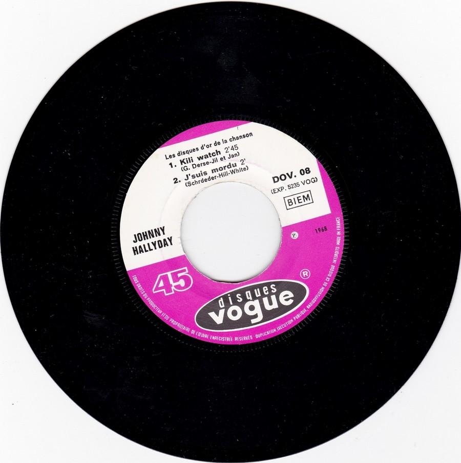 Les disques d'or de la chanson - Souvenirs, souvenirs ( EP 45 TOURS ) 1969_133