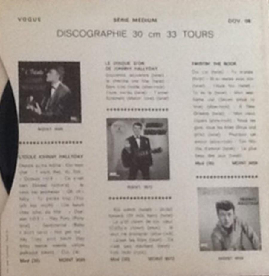 Les disques d'or de la chanson - Souvenirs, souvenirs ( EP 45 TOURS ) 1969_134