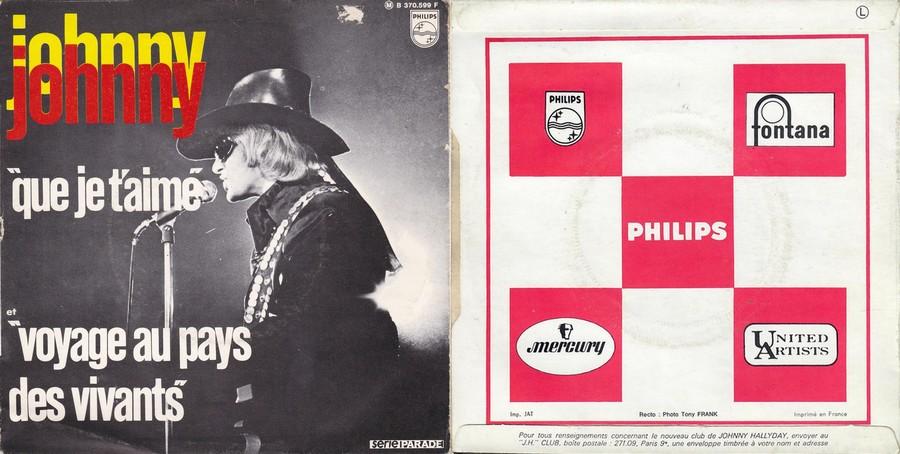 LES CONCERTS DE JOHNNY 'PALAIS DES SPORTS DE PARIS 1969' 1969_222